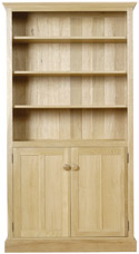 CH07 Tall Bookcase with Doors