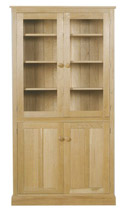 CH08 Tall Bookcase with Glazed Doors