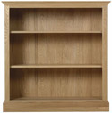 CH10 Low open Bookcase with 2 shelves
