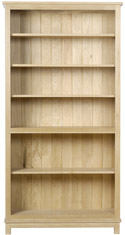 WR06 Tall Open Bookcase with Five Shelves