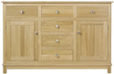 WR12 Sideboard with Centre Drawers