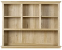 WR15 Open Top Section for 3 Drawer Sideboard