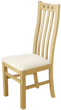 WR18 Oak Side Chair
