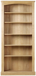 Large Fluted Bookcase