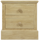 K114 2 Drawer Bedside