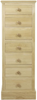 K111 7 Drawer Wellington Chest